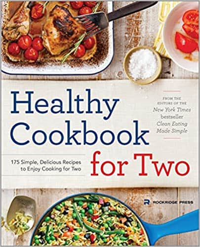 Healthy Cookbook for Two (Kindle Edition & Paperback) by Michelle Anderson