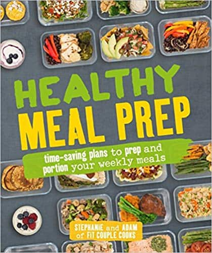 Healthy Cookbooks: Healthy Meal Prep (Kindle Edition & Paperback) by Adam Bannon