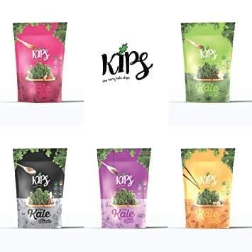Healthy Substitutes For Cravings: Kips' Kale Chips (Assorted Flavor)