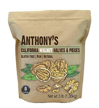 Anthony's California Walnut Halves & Pieces