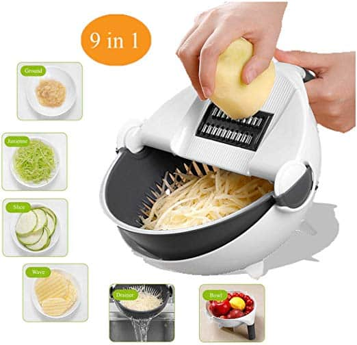Multifunctional Food Slicer & Foot Massager For An Easy Life